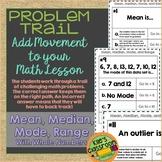 Mean, Median, Mode, and Range Problem Trail