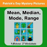 Mean, Median, Mode, and Range - St. Patrick's Day Mystery