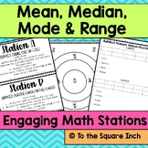 Mean, Median, Mode and Range Stations