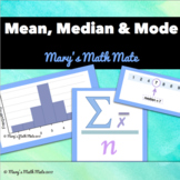Mean, Median, Mode and Range - handout and activities