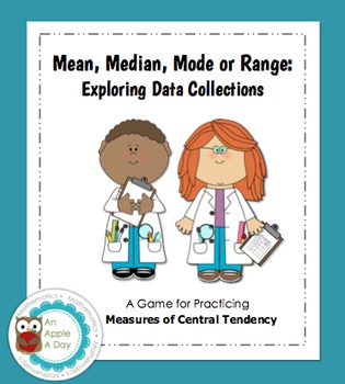 Mean, Median, Mode or Range: Exploring Data Collections Game