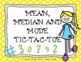 Mean, Median and Mode Game