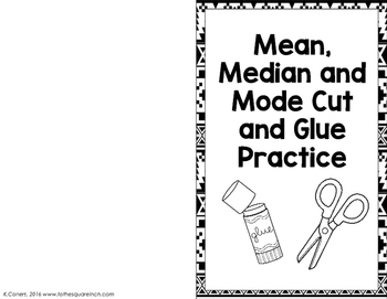 Mean, Median and Mode Practice
