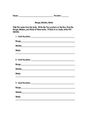Mean, Median, and Mode Practice - Card Activity