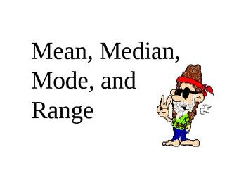 Mean, Median and Mode Presentation