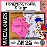 Mean Median Mode Range Musical Chairs