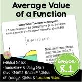 Calculus: Mean Value Theorem for Integrals