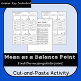Mean as a Balance Point Cut-and-Paste