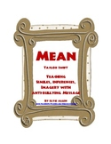 """Mean"" by Taylor Swift:  Similes, Inferences, Imagery with Anti-Bullying Message"