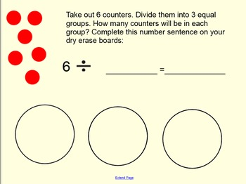 Meaning of Division Smart Notebook