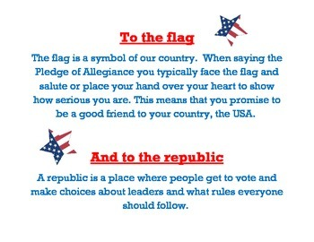 Meaning of Pledge of Allegiance