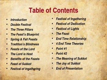Meaning of Sukkot (Tabernacles)