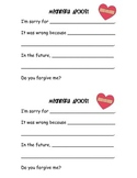Meaningful Apology Forms