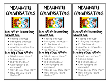 Meaningful Conversations Bookmarks
