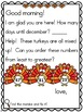 Meaningful Morning Messages 1st Semester Bundle (1st Grade)