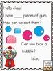 Meaningful Morning Messages for August/September (Kindergarten)