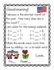 Meaningful Morning Messages for February (1st Grade)