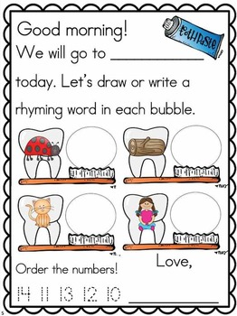 Meaningful Morning Messages for February (Kindergarten)