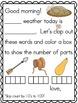 Meaningful Morning Messages for November (Kindergarten)