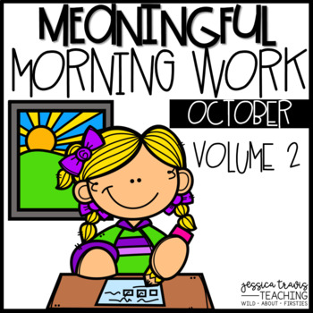 Meaningful Morning Work - Vol. 2 (OCTOBER)