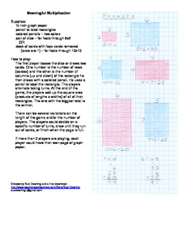 Meaningful Multiplication - Two Free Activities to Demystify Multiplication