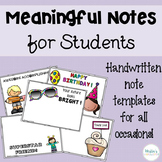 Meaningful Notes for Students
