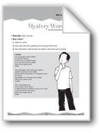 Meanings and Spellings (Ten-Minute Activities)