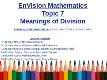 Meanings of Division