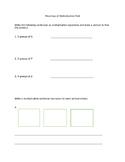 Meanings of Multiplication Assessment/ FSA Math Assessment