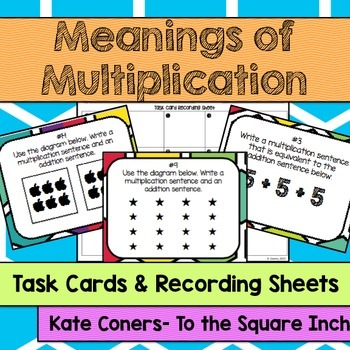 Meanings of Multiplication Task Cards
