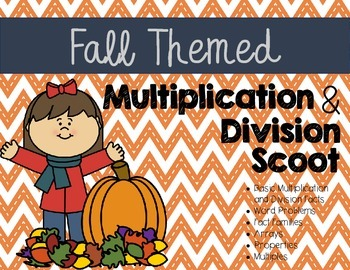 Meanings of Multiplication and Division Scoot