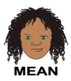 Meanness - 1 of 9 Faces of Emotions for Emotional Intellig