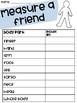 Measure A Friend