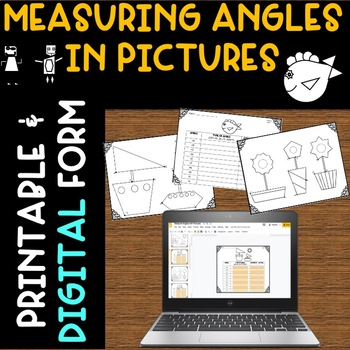 Measure Angles Protractor Practice with Pictures
