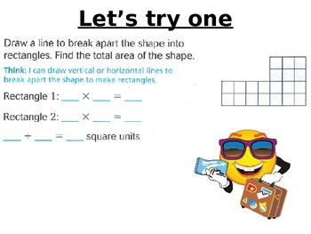 Area of Combined Rectangles