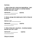 Measure Area of Classroom Objects (Spanish)