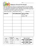 Measure Around the House Homework Activity