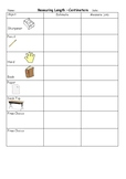 Measure Centimetres of Classroom Objects