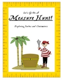 Measure Hunt - Exploring Inches and Centimeters
