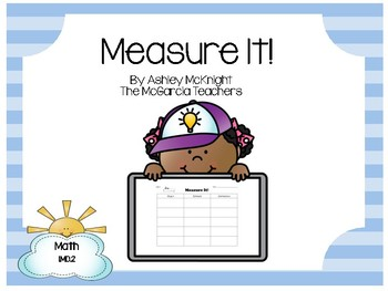 Measure It Math Game {Interactive & Hands on} 1.MD.2