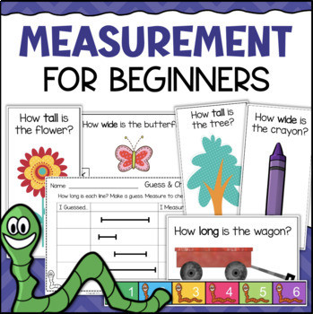 Measurement for Beginners: Introduction to Measuring in Inches