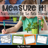 Measurement for the Math Journal: Measure it!