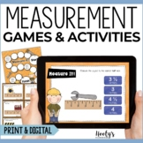 Games and Activities for Measuring to the Nearest Half Inch