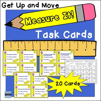 Measure It: Task Cards
