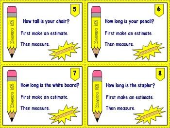 Measure It: Task Cards