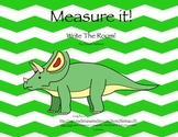 Measure It! Write The Room