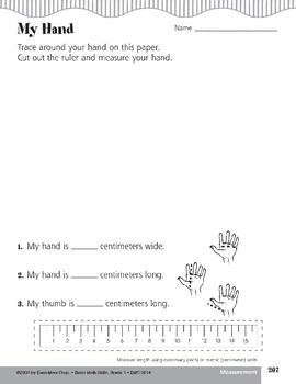 Measure Length by Inches or Centimeters