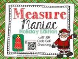 Measure Maniac- Kindergarten & First Grade (Christmas Edition)