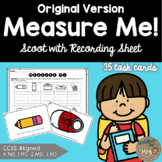 Measuring Practice Task Cards - Standard or Non-Standard Units