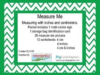 Measure Me - A measurement activity